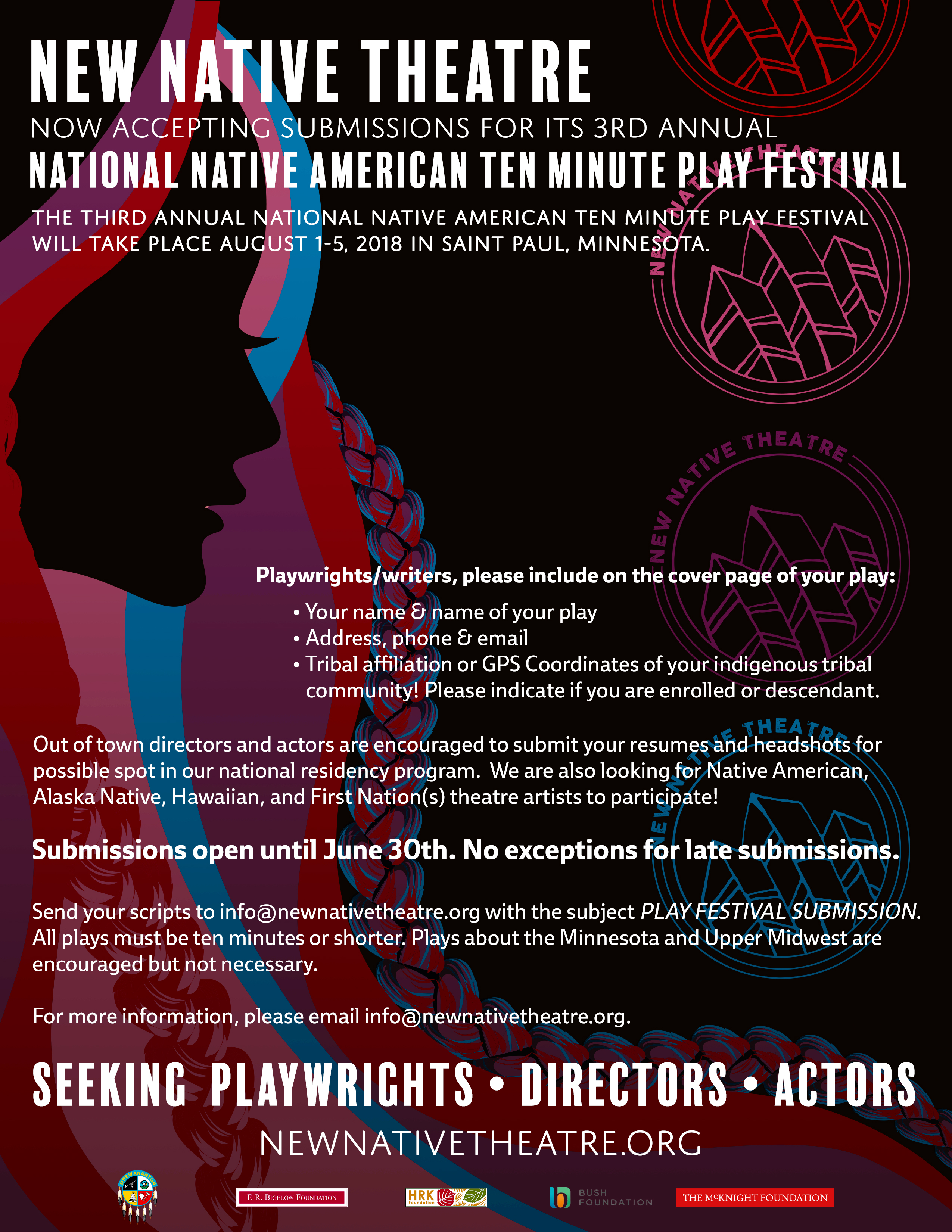 2018 National Native American Ten Minute Play Festival | New Native