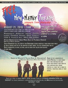 NNT summer tour flyer OPEN STREETS