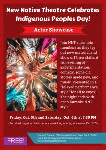 actor showcase