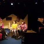 Photo by Rhiana Yazzie featuring Rachel Schmidt, Reed Two Bulls, Delinda Oogie Pushetonequa, Deanna StandingCloud, Samsoche Sampson